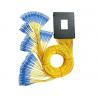 Corning Core Optical PLC Splitter , Compact Design 1x8 PLC Splitter for FTTX for sale