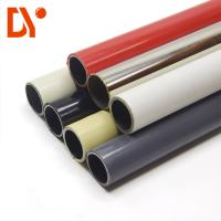 Buy cheap Anti Rust Pe Coated Steel Pipe Custom Size 0.8 - 2.0mm Thickness Ivory Color product