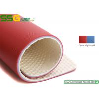 Buy cheap Thin PVC Gym Rubber Flooring Mats/ PVC Vinyl Floor Tiles / Sport Flooring Colth from wholesalers