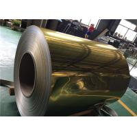 Buy cheap 1100 Alloy Polished Aluminum Sheet  Rich Color For Decoration Materials Used product