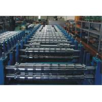 Buy cheap 0 - 15m/min PLC Double Layer Roll Forming Machine For Two Roofing Profiles product