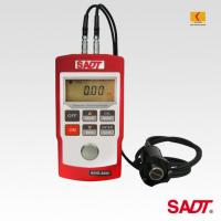 Buy cheap 4 digits LCD Handheld Ultrasonic Thickness Gauge SA40+ with normal and multiple echo(MEC)  mode in red or blue color product