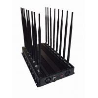 China EST-502F16 Cell Phone Frequency Jammer 16 Band Omni Directional Antenna Adjustable Frequency on sale