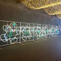 China christmas motif led rope light on sale