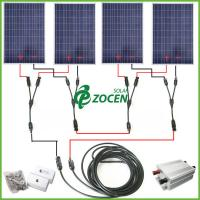 Light Stand Ground: Stand Alone Portable 400W Ground Solar Panel Mounting