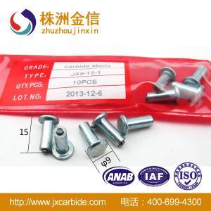 Buy cheap JX9-15-1車のためのスリップ防止タイヤのスタッドを競争させる高い量の炭化物のスライバ氷 product