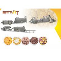 Buy cheap EN AS Standard Corn Flakes Production Line SS Made 35m / 42m Length Optional product
