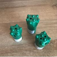 Buy cheap Heavy Duty Button Drill Bit Rock Drill Parts Used In Marble Quarry from wholesalers