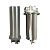 Buy cheap Water Pre Treatment 100Psi SUS316 Ro Cartridge Filter Housing product