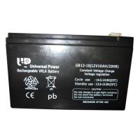 China AGM Rechargeable VRLA Lead Acid Battery 12V 10Ah for emergency lighting on sale