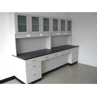 China Acid Resistant Wooden Chemistry Lab Furniture C Frame With Drawer on sale