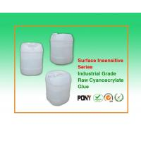 Buy cheap Surface Insenstive Ethyl Cyanoacrylate Raw Adhesive Solvent Free from wholesalers