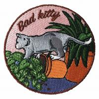 Buy cheap Hook And Loop Embroidered Velcro Patches Heat - Cut Cool Velcro Patches product
