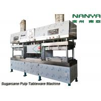 Buy cheap Semi - Automatic Stainless Steel Pulp Molding Equipment For Plates / Bowls / Cups product