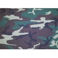Buy cheap Camouflage Polyester Print Fabric / Modern Print Fabric Soft product