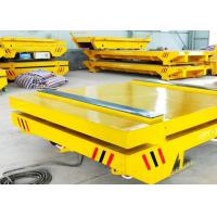 China Easy Maintenance Trackless Transfer Cart , Electric Material Transfer Cart on sale
