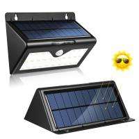 Outside Wall Lights Solar Powered : Solar Powered 0.55W PIR Motion Sensor Outside Lights , Outdoor Led Wall Light - 107222122