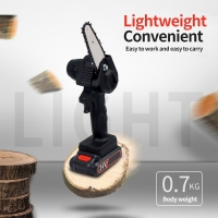 Buy cheap Corded Chain Saws 24V professional 5 inch portable mini electric start chainsaw product