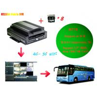 Buy cheap M718 Full HD 1080P Car DVR Support Iphone / Android  , 8 Channel D1 Resolution product
