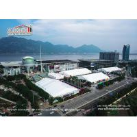 Buy cheap High Quality Aluminum Exhibition Tent  Waterproof PVC Sidewall Auto Show Event product