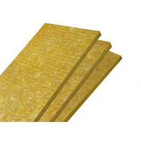 Buy cheap High Temperature Decorative Rock Wool Insulation Board Lightweight product