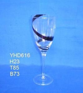 顧客のロゴのワイン グラス350ml 470ml 750mlのワイン グラス