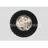 China Wheel Design High Intensity Led Flashlight ABS PC Silica With Powerful Magnet on sale