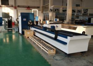 Buy cheap 220mm 6m Pipe IPG Cnc Fiber Laser Cutting Machine product