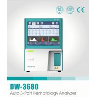 Buy cheap 3 Part 3 Diff Clinical Hematology Analyzer , Auto CBC Multi Drug Test Kit DW-3680 product