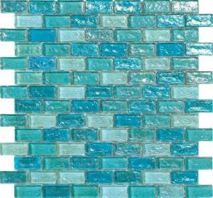 Buy cheap 淡いブルーの水ホテルのプールのための振るガラス モザイク・タイルは材料を造りました product
