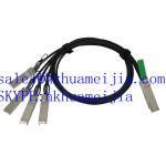 Buy cheap QSFP-4SFP10G-CU1M Compatible Cisco QSFP+/4SFP+ Copper Cable Breakout, 1 Meter product