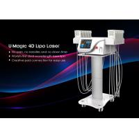 China Tuv Medical Ce Smart Lipo Machine , Non Invasive Laser Lipo Machine 650nm / 940nm on sale