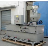 Buy cheap 3 Tank Type Automatic Chemical Dosing System , PAM Flocculant Dosing System product