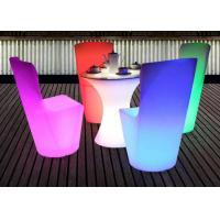 China Rbg Color Changeable Outdoor Light Up Cocktail Tables Battery Rechargeable Ce Rohs on sale