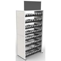 Buy cheap Metal Frame Modular Cigarette Display Cabinet Tobacco Shelf 240 Facings product