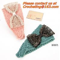Buy cheap Women knitted headband crochet headband Handmade tenia Mixed quantuty and color product