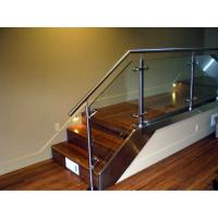 Buy cheap Stainless steel handrail glass balustrade system product