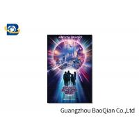 China High Resolution Lenticular Greeting Cards Movie Star Photo Eco - Friendly Material on sale
