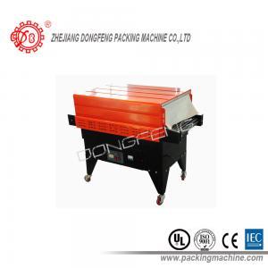 China No modele ninguna empaquetadora del túnel del encogimiento BS-4535, acero del material, anaranjado con el tamaño negro 450x (50-350) milímetro del túnel del color wholesale