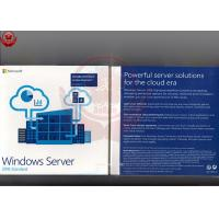 Buy cheap Windows Server 2016 Standard Oem  Retail DVD COA Sticker Software Licensing product