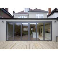 Buy cheap America Market Veranda Aluminium Folding Door With Double Low - E Glass product