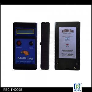 China Blue Rectangular Handheld RFID Reader Tag Reader For Asain Arawana on sale