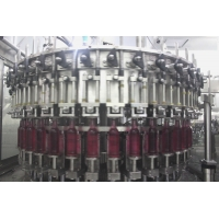 Buy cheap Soda Sparkling Water 8000 BPH Glass Bottle Filling Machine from wholesalers