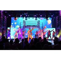 Buy cheap Stage Background 2.9mm Indoor Rental Led Display Screen 1200 Nit Per Sqm Brightness product