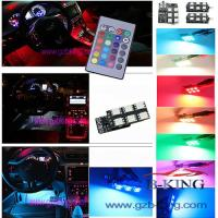 Buy cheap 16-colors Car LED Interior Atmosphere Floor Decorative Light product