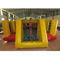 Buy cheap Amusement Park Inflatable Football Games Blow Up Football Pitch Inflatable Sports Arena product