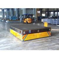 China Motorized trackless transfer bogie for steel facolity transport