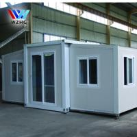 China Office use prefab modular expandable container house to Australia on sale