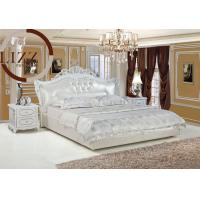 Home european leather bed a805 103200575 for European beds for sale
