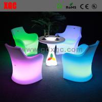 Buy cheap Hot Sales Led Bar Chair / Led Furniture Led Table And Chairs from wholesalers